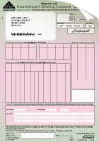 paper counterpart license
